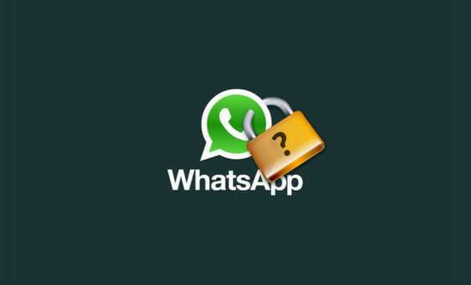 Come bloccare WhatsApp con una password | Guida