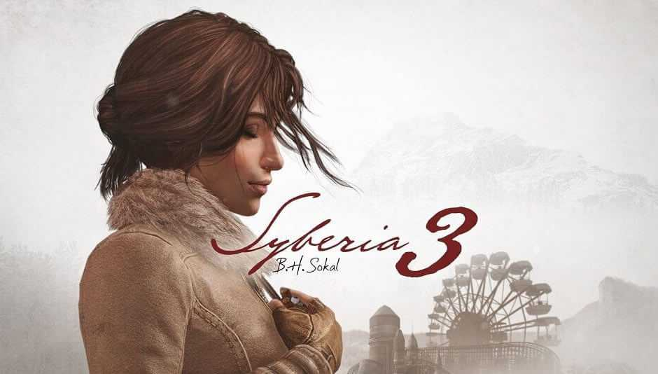 Syberia 3: disponibile ora su PS4, Xbox One e PC