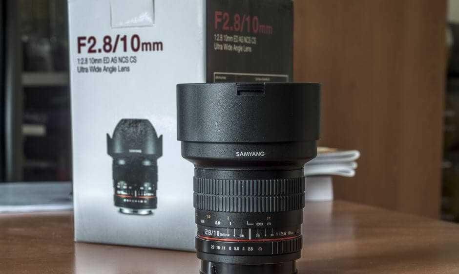 Recensione Samyang 10mm f/2.8: ultra wide per APS-C