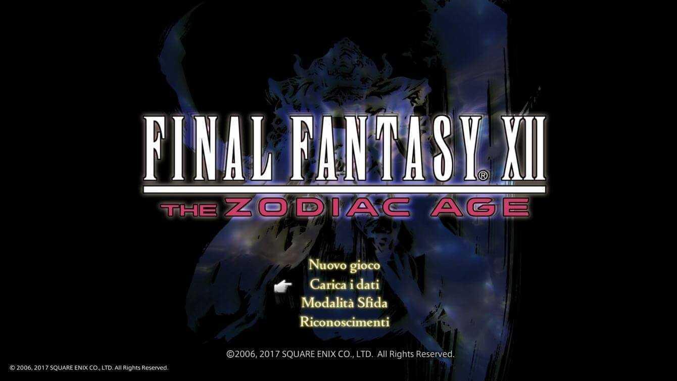 Recensione Final Fantasy XII The Zodiac Age