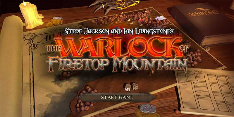 The Warlock of Firetop Mountain | Recensione