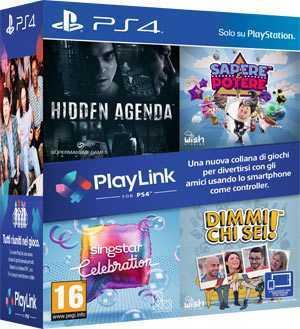PlayLink: tutti i minigiochi per divertirsi in compagnia