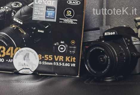 Nikon D3400: la reflex per iniziare | Recensione