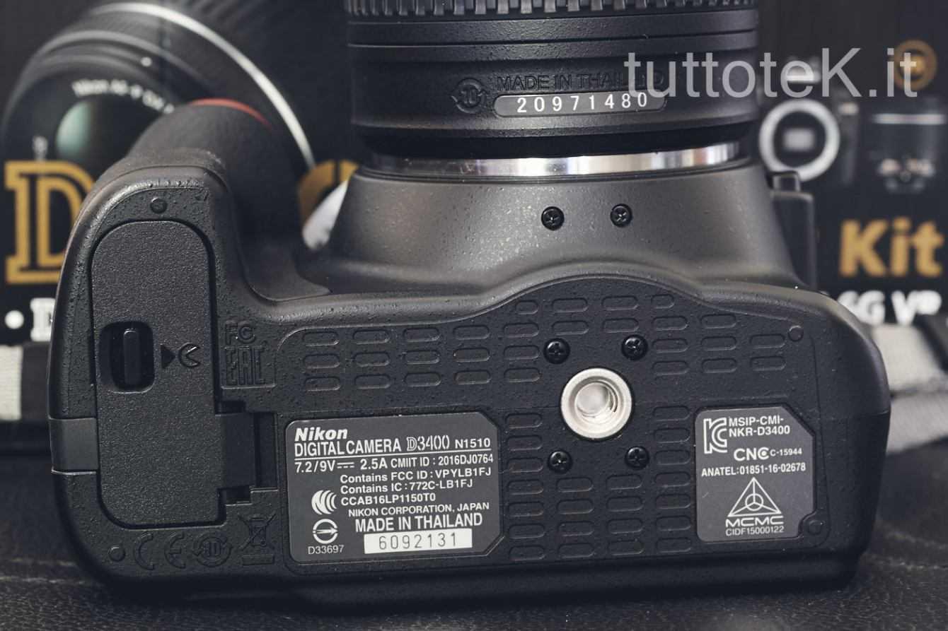 Recensione Nikon D3400: la reflex per iniziare