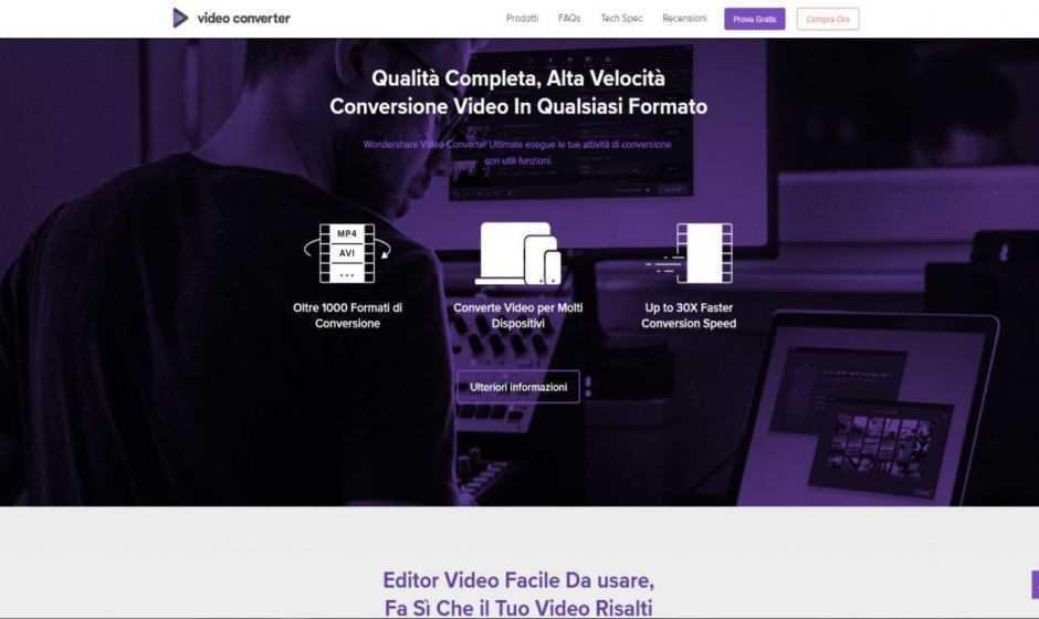 Wondershare Video Converter Ultimate: editare con semplicità | Recensione