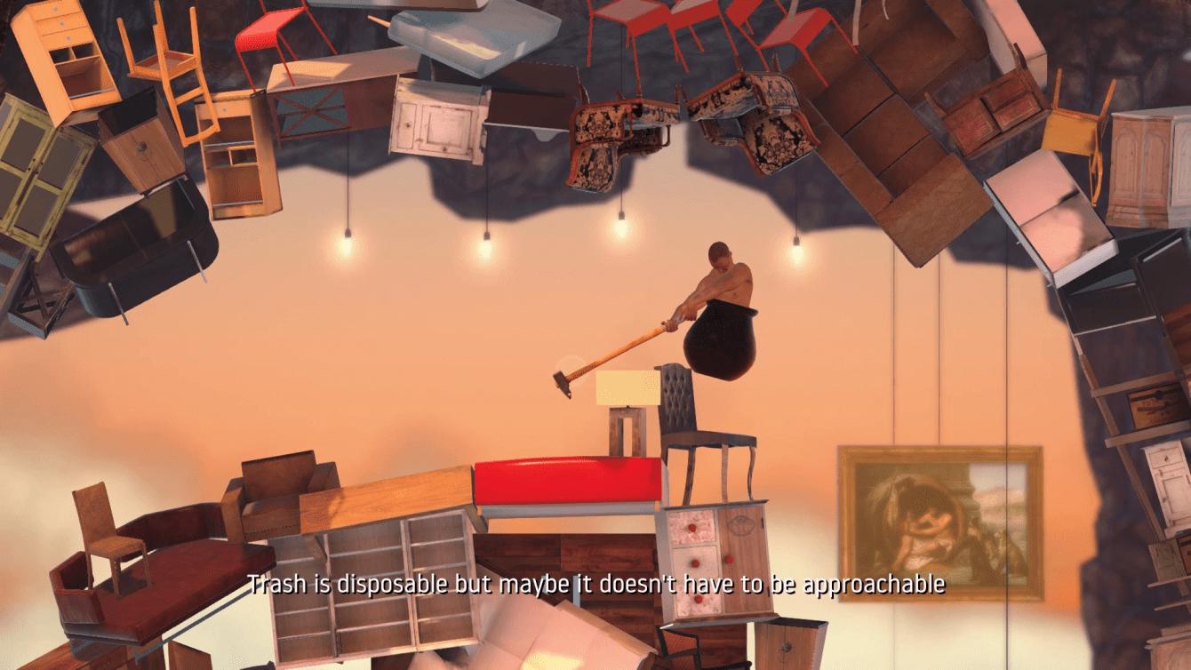 Getting over it: il videogioco impossibile | LIFEinGAMES