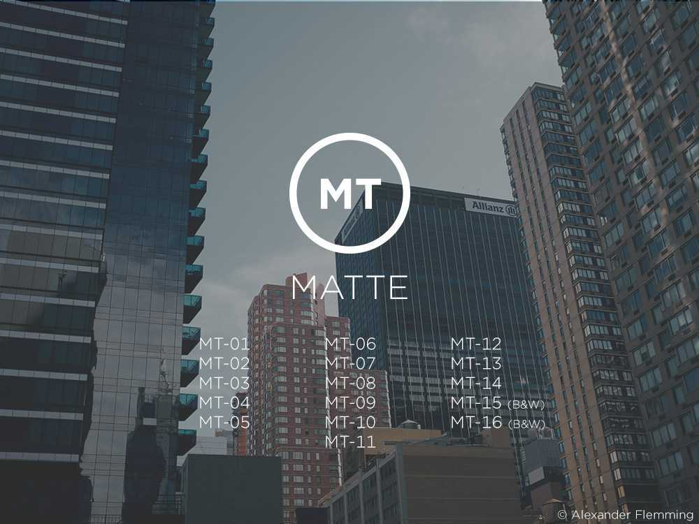 Capture One Pro Styles: Matte Styles | Recensione