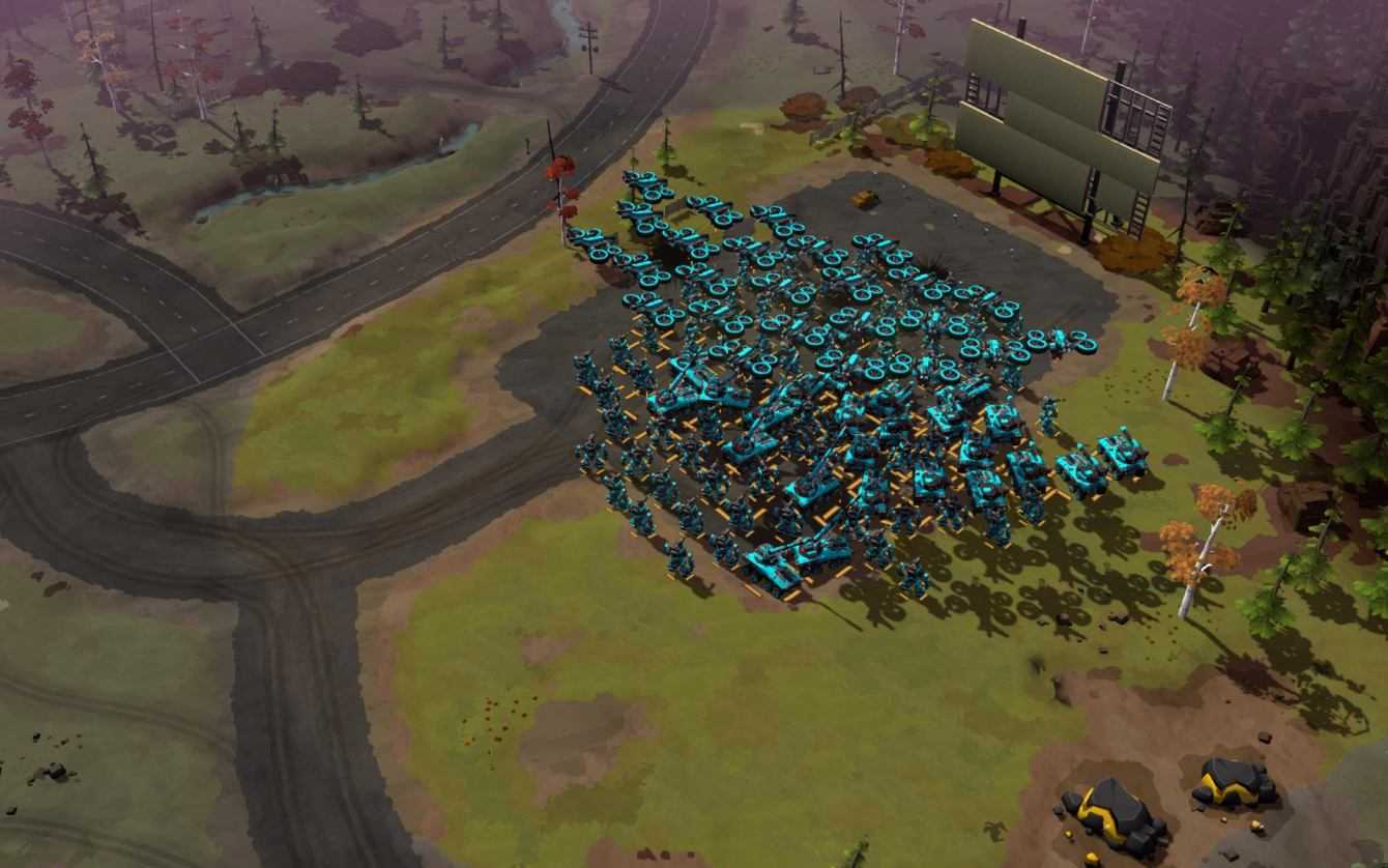 Anteprima Forged Battalion: RTS in early access
