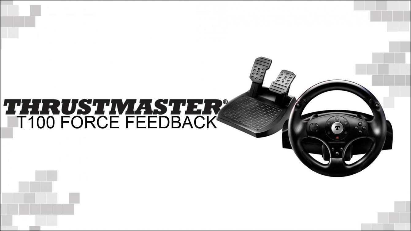 Recensione Thrustmaster T100 economico e funzionale