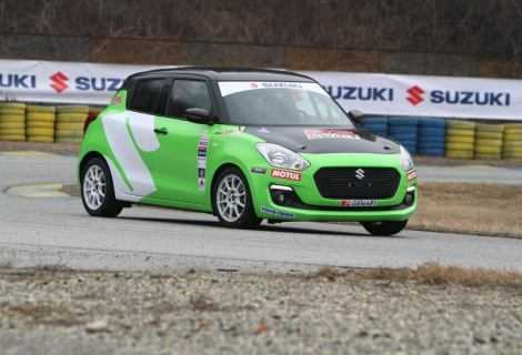Nuova Suzuki Swift 1.0 Boosterjet RS: grande debutto nel campionato di rally