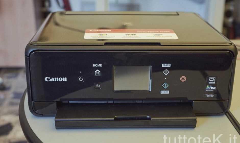 Recensione Canon Pixma TS6150: qualità alla portata di tutti