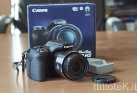Canon PowerShot SX540 HS: compatta zoom 50x | Recensione