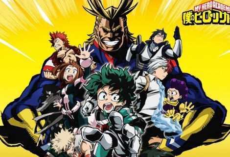 My Hero Academia: ad aprile si torna tutti a scuola!