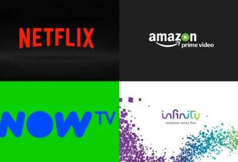 Netflix, Prime Video, Now TV e Infinity: il confronto!