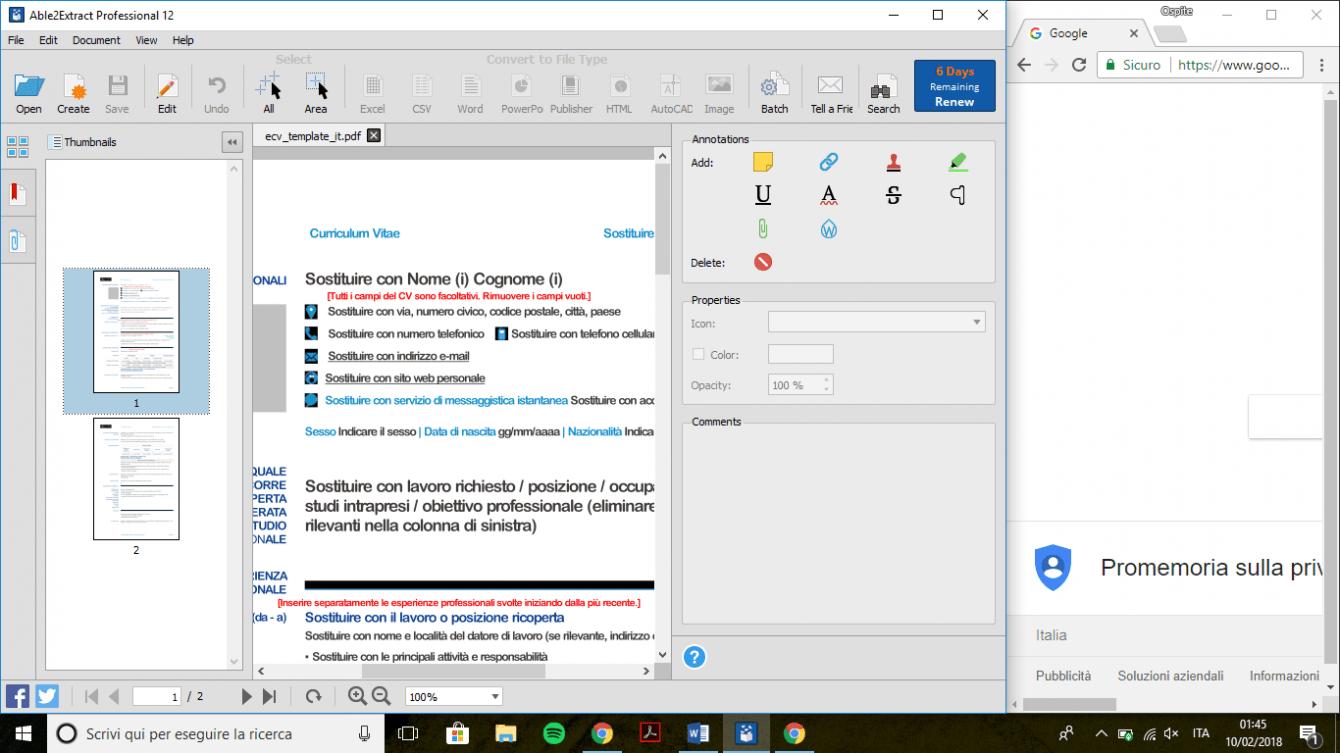 Recensione Able2Extract Professional 12: gestire e convertire i file