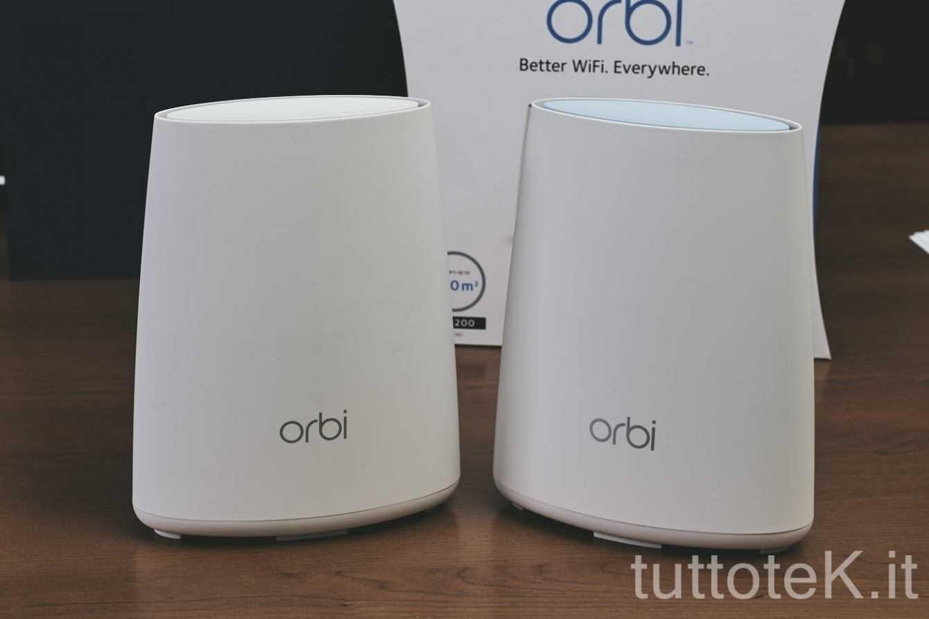 Recensione Netgear Orbi: WiFi perfetto in casa