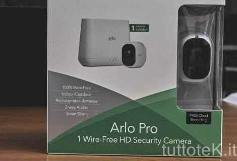 Recensione Netgear Arlo Pro: sistema di sorveglianza per tutti