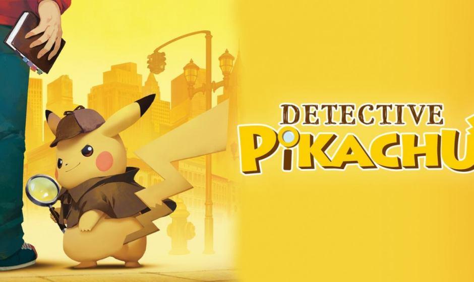 Detective Pikachu: disponibile da oggi su Nintendo 3DS