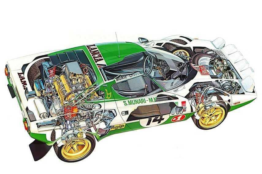 Lancia Stratos: ecco a voi la regina del rally