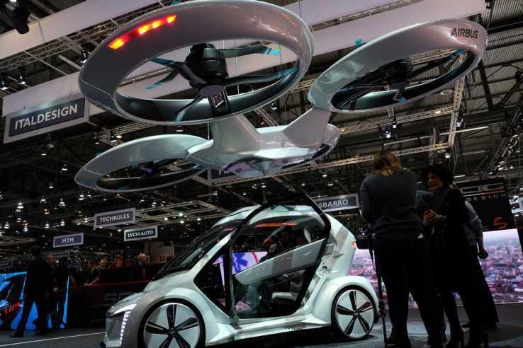 Audi, Italdesign e Airbus: a Ginevra il prototipo dell'auto volante
