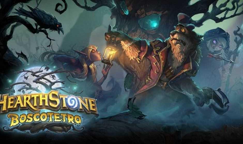 Hearthstone: Blizzard presenta Boscotetro, una nuova espansione