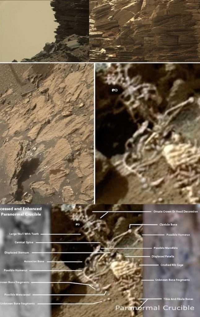 """""""Scheletro alieno"""" su Marte: bufala o realtà?"""