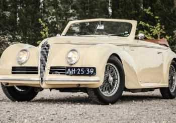 Mille Miglia con furto: sparisce un'Alfa Romeo del 1942