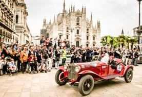 Mille Miglia 2018: trionfo del rosso italiano con Alfa Romeo