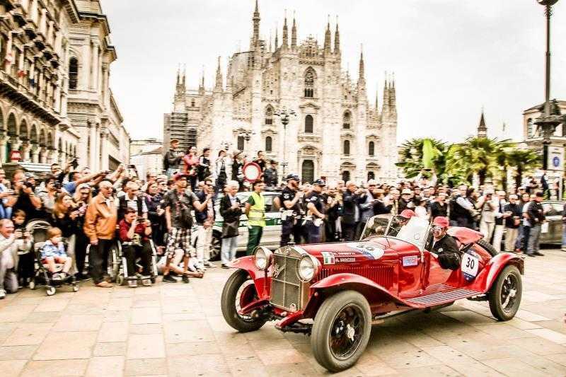 """Alfa Romeo è Automotive Sponsor della """"1000 Miglia"""" 2019"""