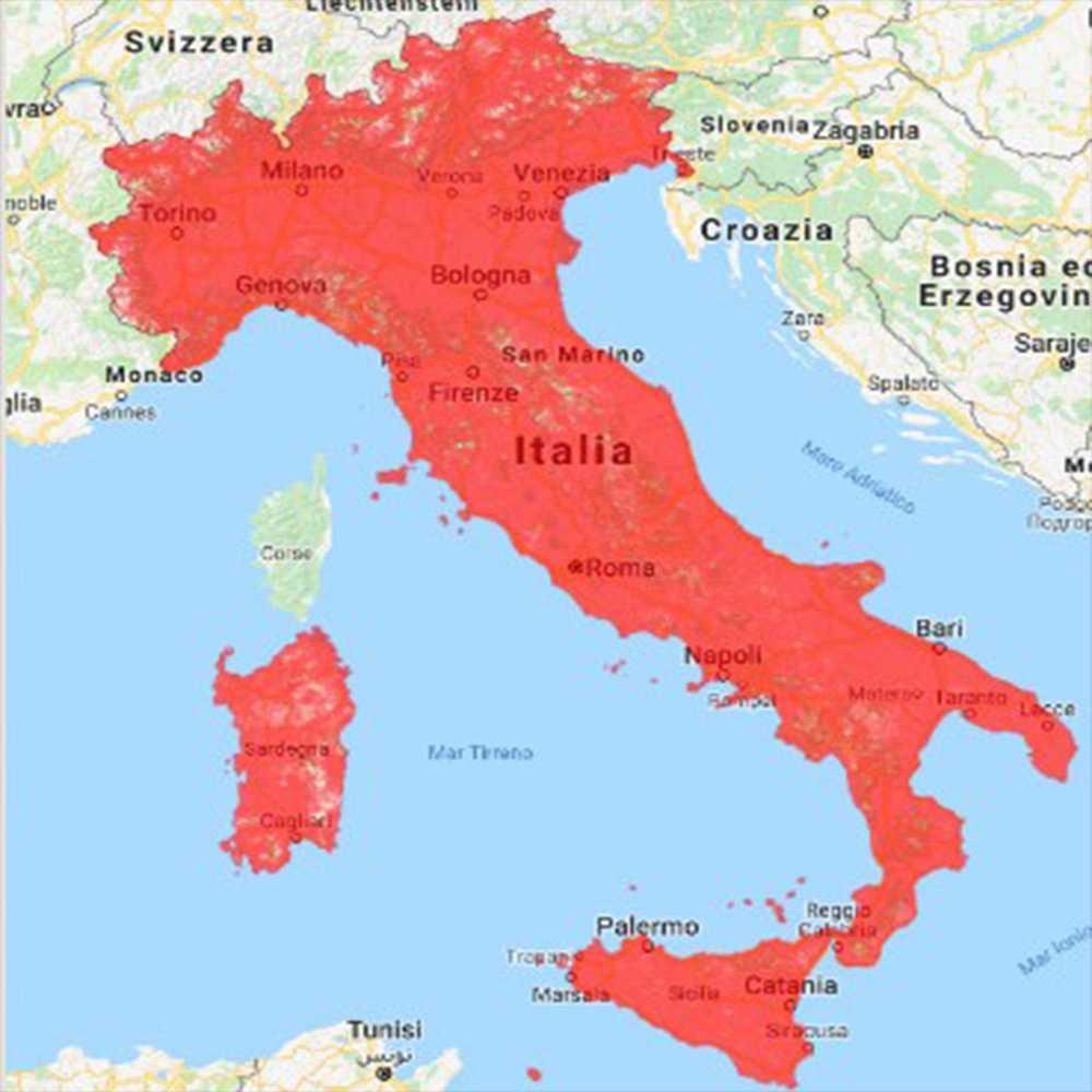 Iliad: speedtest e copertura in Italia della nuova compagnia
