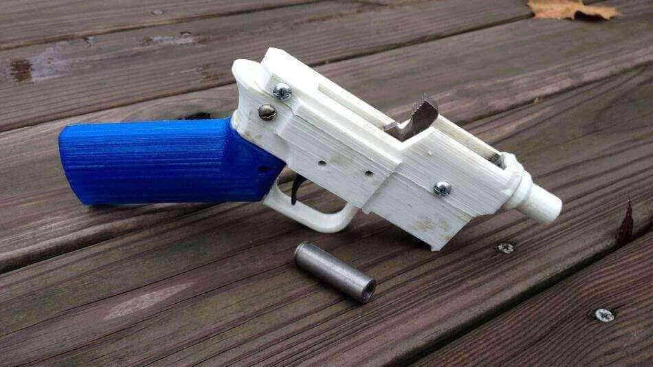 Pistole Stampate in 3D: violenza diffusa e a basso costo?