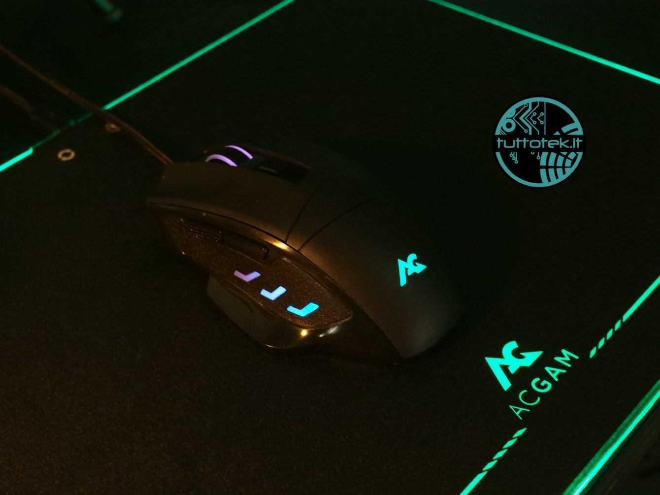 Recensione ACGAM P08 e G402: tappetino e mouse da gaming per tutti