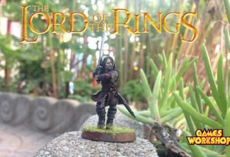 Come dipingere miniature Games Workshop - Tutorial 3: Aragorn