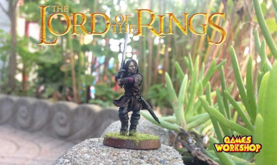 Come dipingere miniature Games Workshop – Tutorial 3: Aragorn