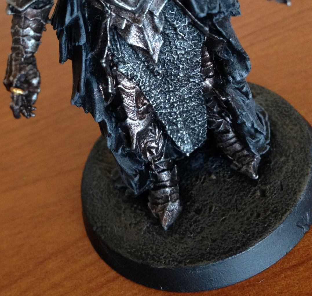 Come dipingere miniature Games Workshop (Citadel) - Tutorial 1: Sauron