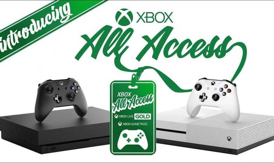 Microsoft annuncia Xbox All Access: ecco tutti i dettagli
