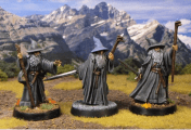 Come dipingere miniature Games Workshop - Tutorial 2: Gandalf il Grigio