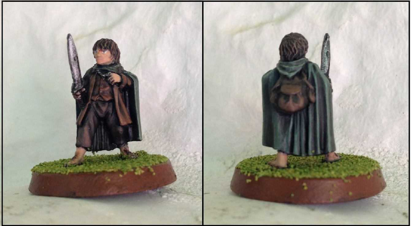 Come dipingere miniature Games Workshop - Tutorial 4: Frodo