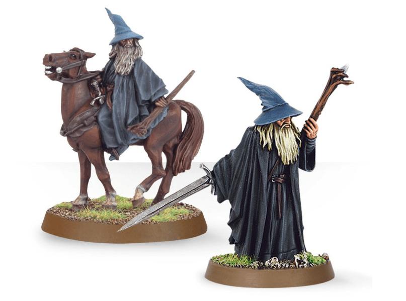 Come dipingere miniature Games Workshop - Tutorial 2: Gandalf il Grigio