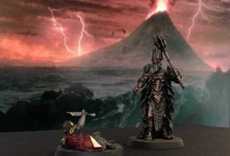 Come dipingere miniature Games Workshop (Citadel) - Tutorial 1: Sauron