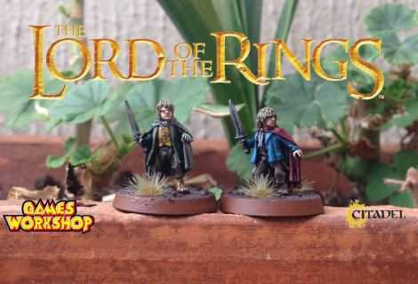 Come dipingere miniature Games Workshop - Tutorial 8: Merry e Pipino
