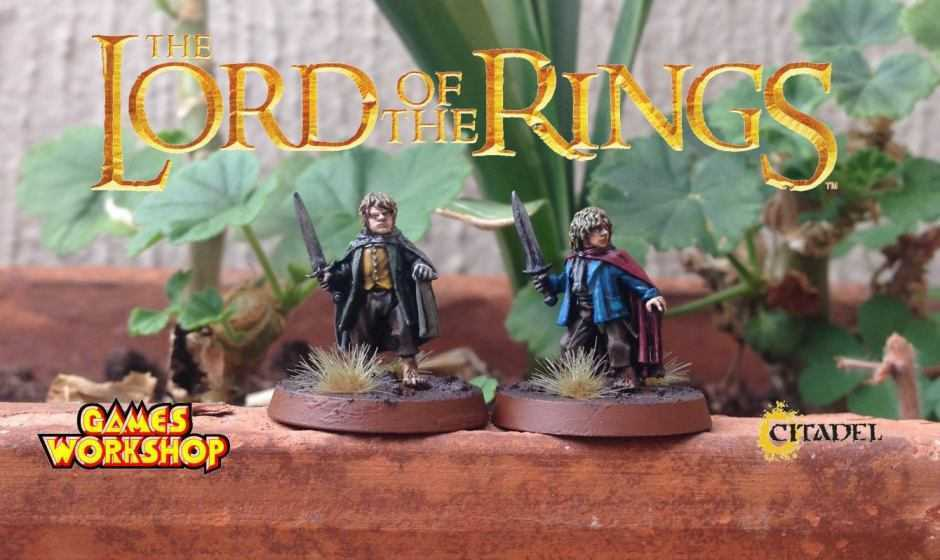 Come dipingere miniature Games Workshop – Tutorial 8: Merry e Pipino