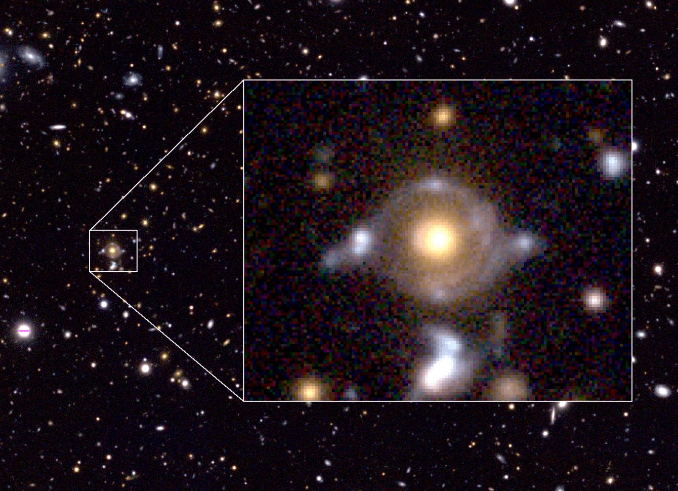 Astronomia: osservato il vento cosmico che accende le stelle