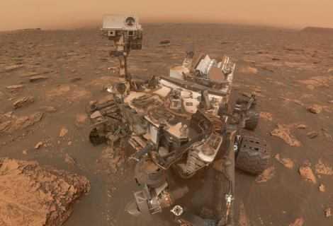 Curiosity: le fotografie di Marte rubate dalla tempesta di sabbia