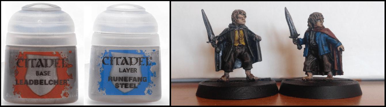 Come dipingere miniature Games Workshop - Tutorial 8: Merry e Pipino
