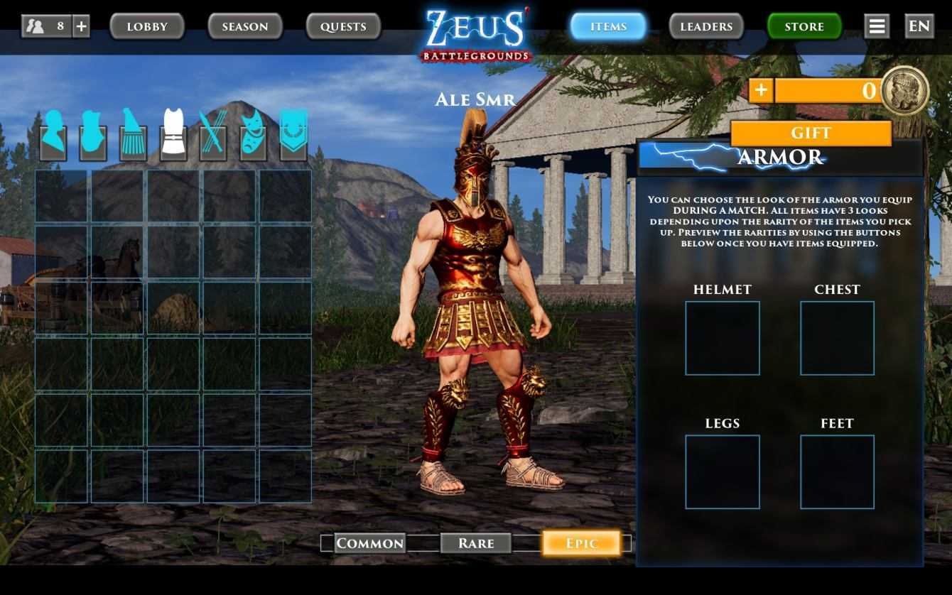 Zeus' Battlegrounds Season Pass, 5 motivi per comprarlo