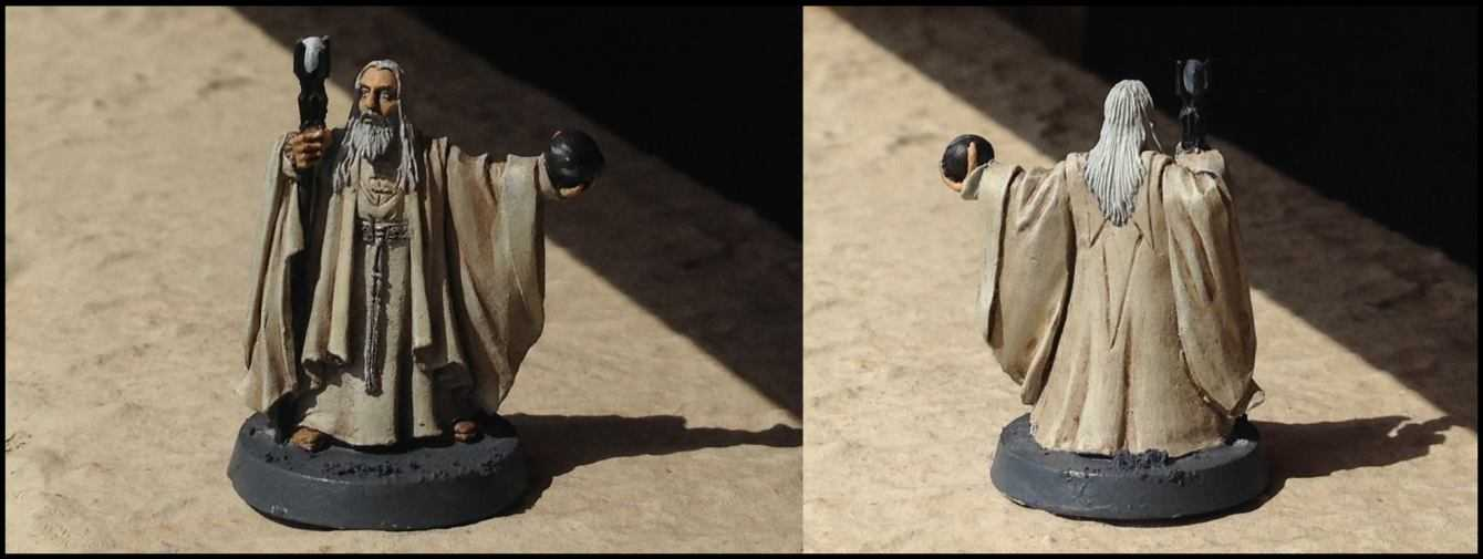 Come dipingere miniature Games Workshop - Tutorial 10: Saruman