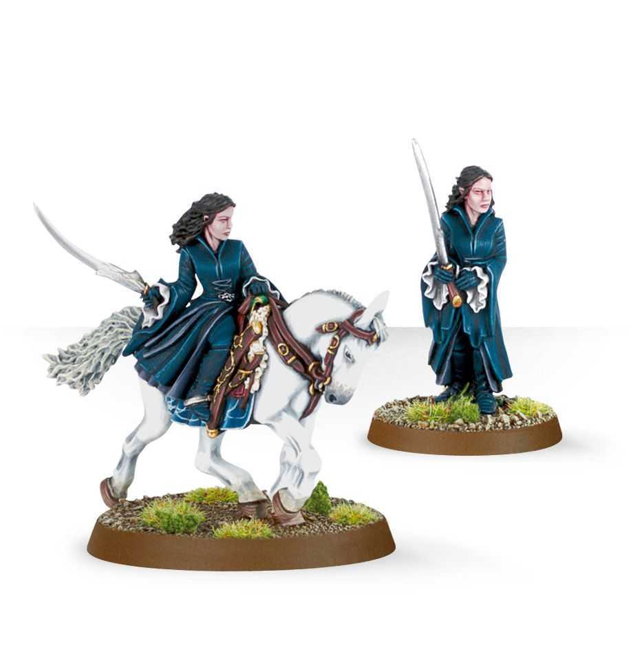 Come dipingere miniature Games Workshop - Tutorial 11: Arwen