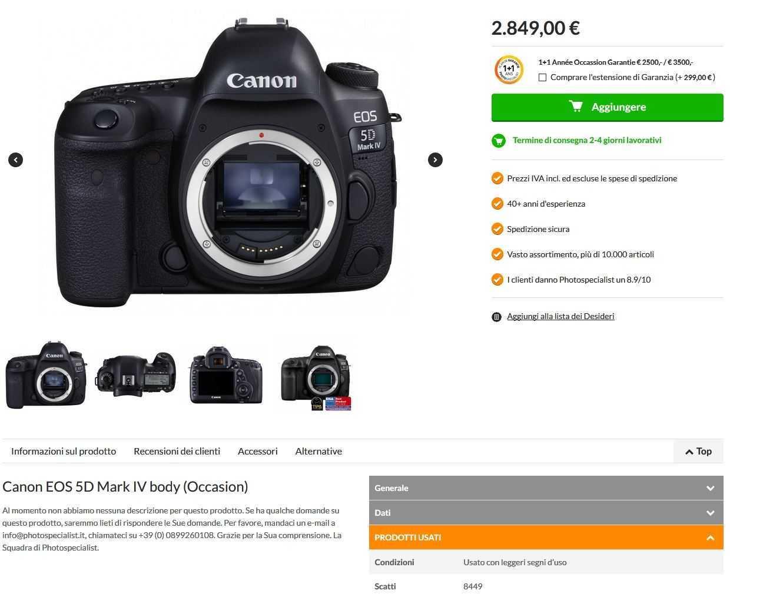 Migliori negozi di fotocamere usate e ottiche | Aprile 2020