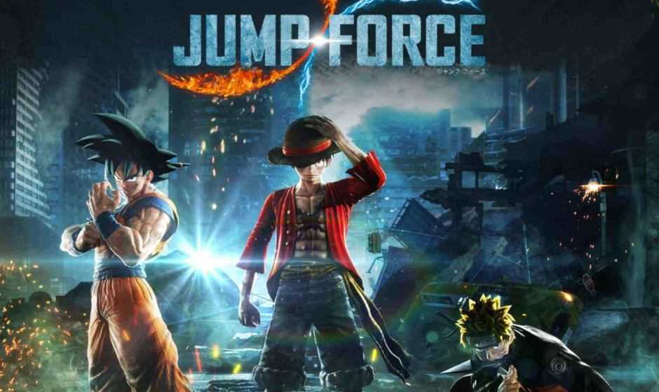 Jump Force: svelata la data d'uscita per Nintendo Switch